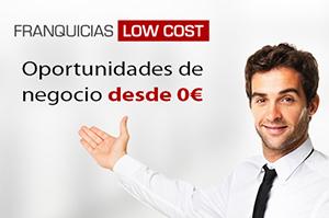 Franquicias Low Cost. Portal de franquicias de baja inversión y alta rentabilidad.